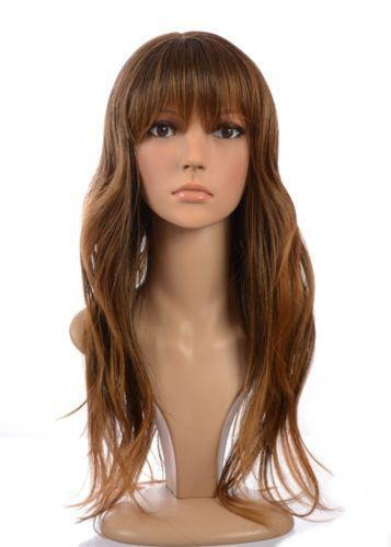 Brown Human Hair Wig Ebay