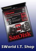 SanDisk Extreme SDXC 64GB