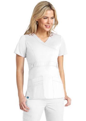 White Nursing Uniform 6