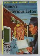 Nancy Drew Mysterious Letter
