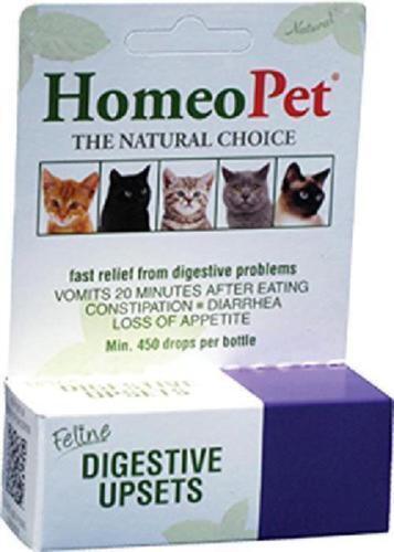 HomeoPet Feline Digestive Upsets Liquid Drops