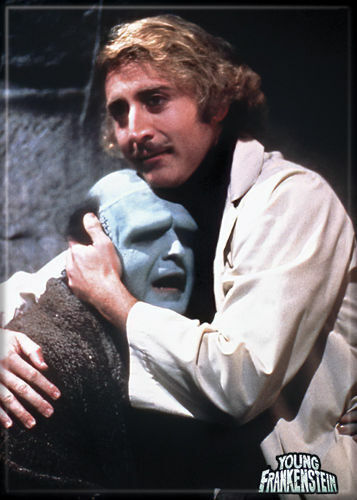 Young Frankenstein Photo Quality Magnet: Frankenstein and Monster