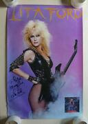 Lita Ford Poster