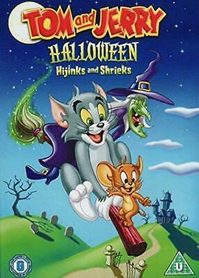 Tom and Jerry - Halloween Hijinks and Shrieks DVD (2003)  New