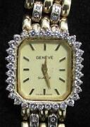 Geneve 14k Gold Ladies Watch