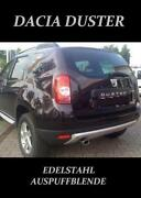 Dacia Duster Auspuffblende