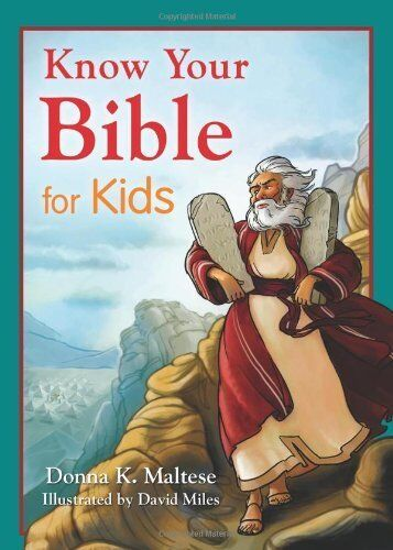 Know Your Bible For Kids Paperback Paperback