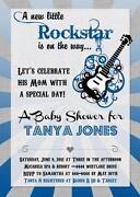 Rock Star Baby Shower