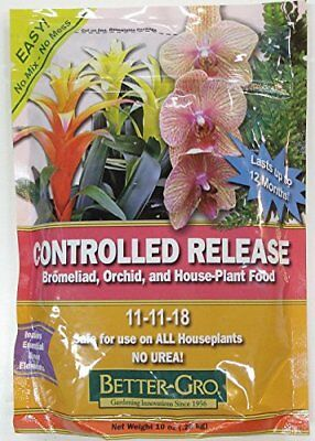 Better-Gro Controlled Release Orchid and House Plant (Best Orchid Foods)