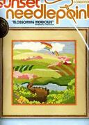 Sunset Needlepoint Kit