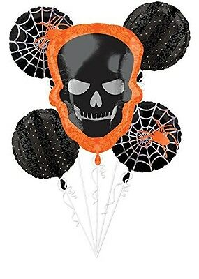 Halloween Sophisticated Balloon Bouquet 5 Pcs](Sophisticated Halloween)