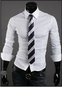 Mens Designer Fitted Shirts