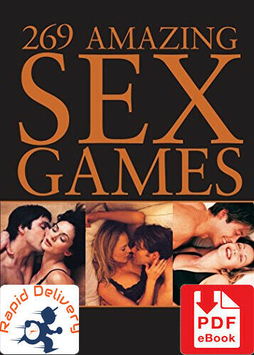 269 AMAZING SEX GAMES by Hugh deBeer, PDF eBook w/Resell Rights + Free Shipping!