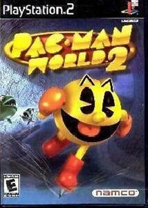 PLAYSTATION PS2 GAME PACMAN PAC MAN WORLD 2 *BRAND NEW*