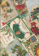 Vintage Christmas Postcard Lot