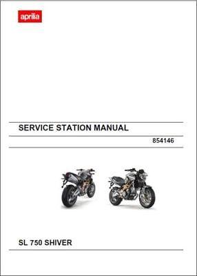 Aprilia SL 750 Shiver Workshop Service Repair Manual (0089)
