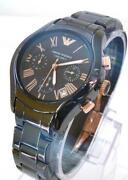 Emporio Armani Rose Gold Watch
