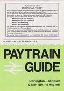 British Rail Timetable
