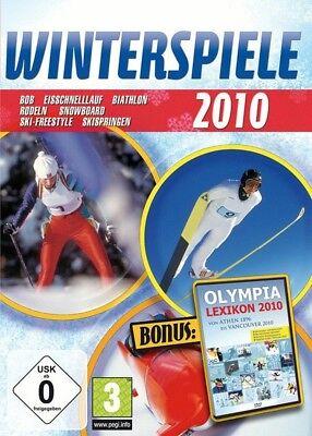 Winterspiele 2010  Wintersport und Olympia Lexikon Game für Pc Neu Ovp (Sport-spiele Für Pc)