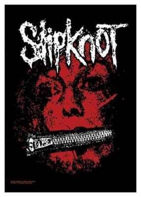 Slipknot Textile Flag Masks Black 70x105cm