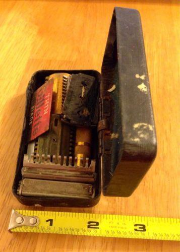 Antique Shaving Kit Ebay