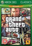 Grand Theft Auto IV GTA 4 Xbox 360