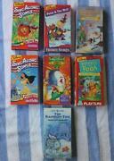 Disney Sing Along Songs VHS Lot