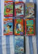 Disney Sing Along Songs VHS Lot