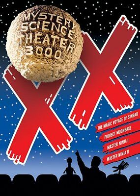 Mystery Science Theater 3000 Volume Xx New Sealed 4 Dvd Set Mst3k