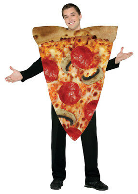 Pizza Halloween-kostüm (Pizza Adult Halloween Standard Size Costume)