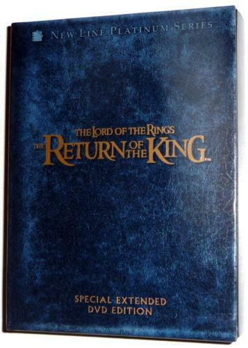 lord of the rings extended edition ebay