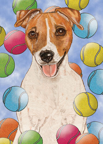 Jack Russell Terrier Blank Note Cards Boxed