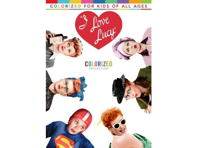 I Love Lucy: Colorized Collection [New DVD] 2 Pack, Amaray Case, Dolby