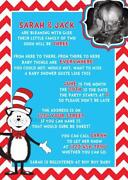 Cat in The Hat Invitations