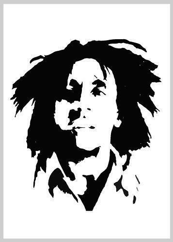Bob Marley Stencil Airbrushes Ebay