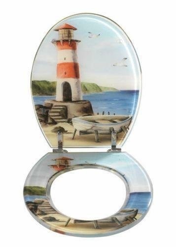 wc sitz leuchtturm toilettensitze ebay. Black Bedroom Furniture Sets. Home Design Ideas