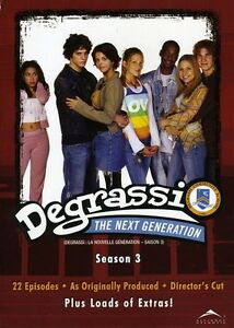 Degrassi: The Next Generation - Season 3 [3 Discs] (2009, DVD NEW)