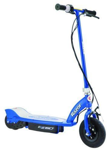 Razor Electric Scooter Blue Ebay