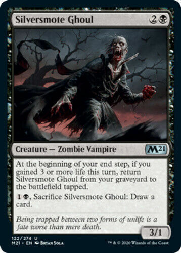 Silversmote Ghoul x4 Magic Core Set 2021 m21 MTG 4 cards