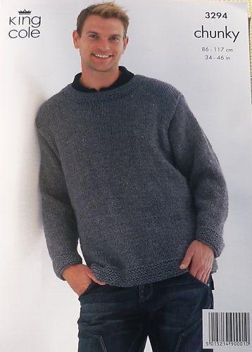 Mens Chunky Knitting Patterns | eBay