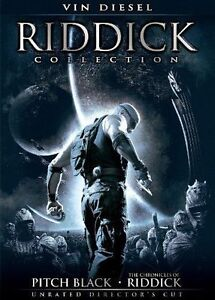 Riddick Collection DVD     2-Disc Set  NEW unopened