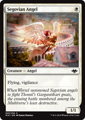 X4 Segovian Angel MTG Modern Horizons C M/NM, English - $1.64