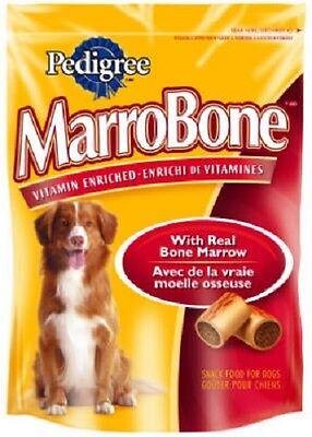 (24) PEDIGREE 10046 24oz MARROBONE VITAMIN ENRICHED BONE MARROW DOG TREATS SNACK