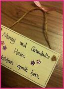 Grandchildren Plaque
