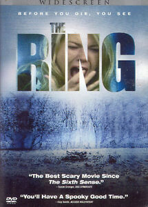 The Ring-Widescreen dvd-Like new dvd-Great modern horror +