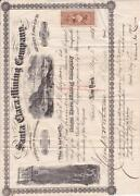 Antique Stock Certificate