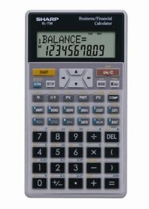 Calculatrice financiere SHARP  EL-738