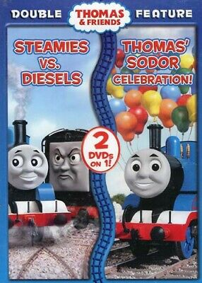 THOMAS AND FRIENDS - STEAMIES VS DIESELS / THOMAS' SODOR CELEBRATION (DOUB (DVD)