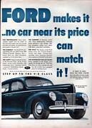 Old Car Ads