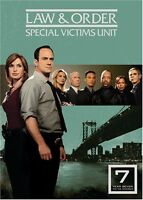 Law & Order SVU Special Victims Unit - The Seventh Year